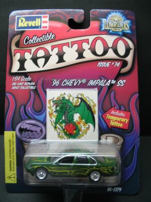 Tattoo Gallery 61 CHEVY IMPALA CONVERITABLE La Vida Loca Tattoos 300x400px