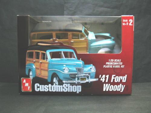 プラモデル Plamodel Amt フォード アメリカングラフィティ サンダーバード マーキュリー Woody